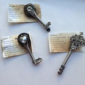 one side keys 53, 54, 55
